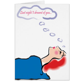 Dreaming Greeting Card