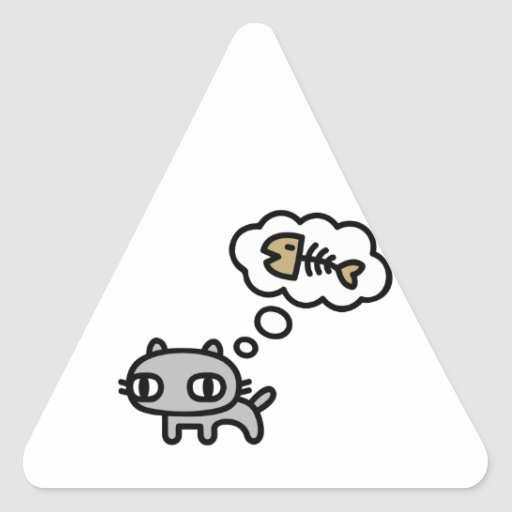 Dreaming Cat Stickers