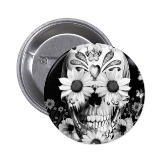 Dreaming Daisies 2 Inch Round Button