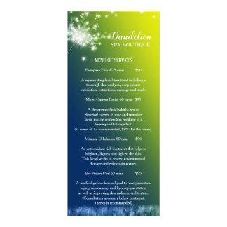 Dreaming Dandelion Massage Spa Price List Menu