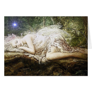 Dreaming Fairy Greeting card
