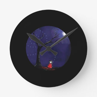 Dreaming Girl Clock