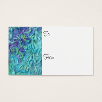 """""""Dreaming in Blue"""" Florist Gift Cards"""