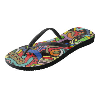 Dreaming in Mexico Flip Flops