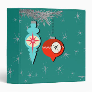 Dreaming of a Retro Christmas Binder