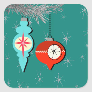 Dreaming of a Retro Christmas Stickers