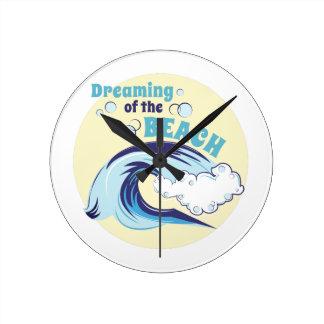 Dreaming Of Beach Clocks