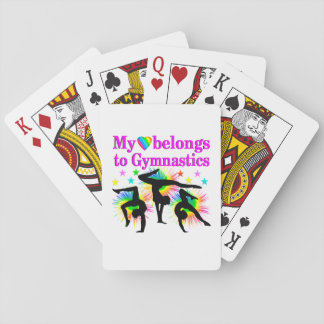 DREAMING OF GYMNASTICS POKER DECK