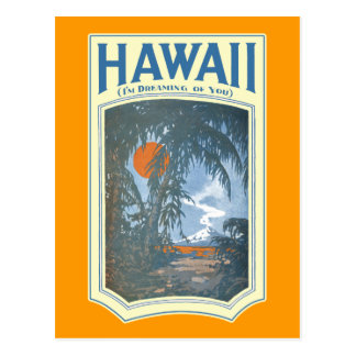 Dreaming of Hawaii Postcard