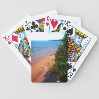 Dreaming of Lake Michigan Bicycle Playing Cards