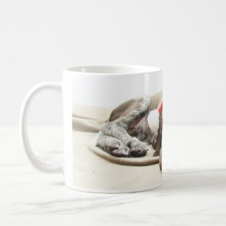 Dreaming of Santa - German Shorthair Puppy Coffee Mug