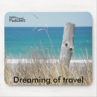Dreaming of travel mouse pad
