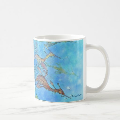 Dreaming On Aquamarine Tides Mug