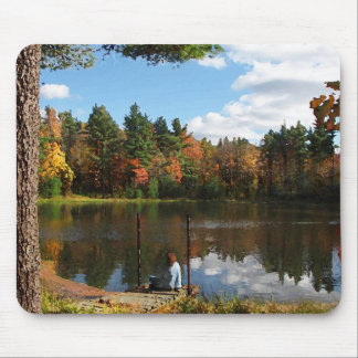 Dreaming on the Dock Mouse Pad