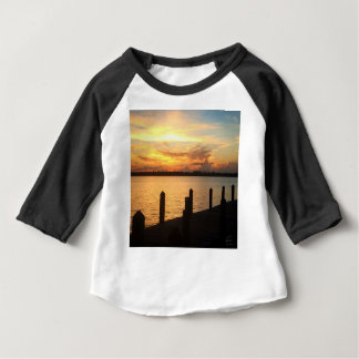 Dreaming on the dock of the bay baby T-Shirt