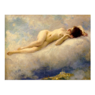 Dreaming pf the Orient - Charles Lenoir 1913 Postcard