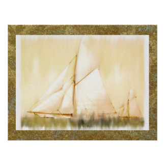 Dreaming Sails Father's Day custom print