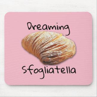 Dreaming sfogliatella  - Mousepad