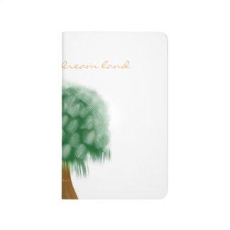 Dreamland tree pocket journal