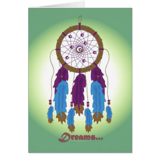 Dreams...Dreamcatcher Greeting Card