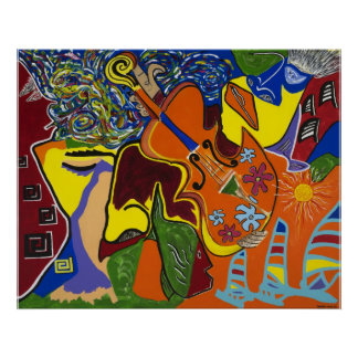"""Dreams of Jamaica"" Poster"