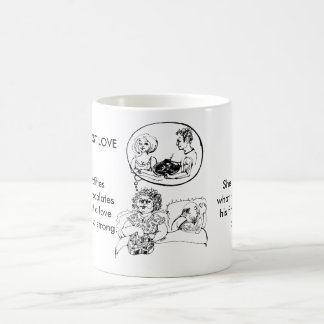 Dreams of lost love - Marriage Mug