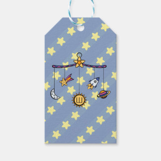 Dreams of Space Mobile Gift Tag