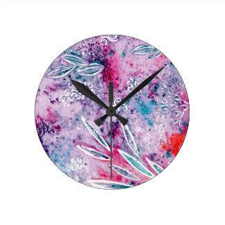 Dreams of Spring Round Clock