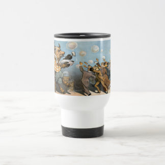 Dreams of Wall Street - The Bull Market Travel Mug