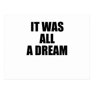 dreams postcard