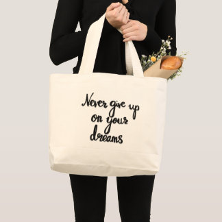 Dreams quote bag