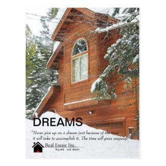 Dreams Real Estate postcard