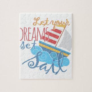 Dreams Sail Jigsaw Puzzle
