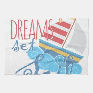 Dreams Sail Kitchen Towel