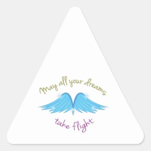 Dreams Take Flight Sticker