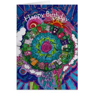 Dreamscape 4 Birthday Card