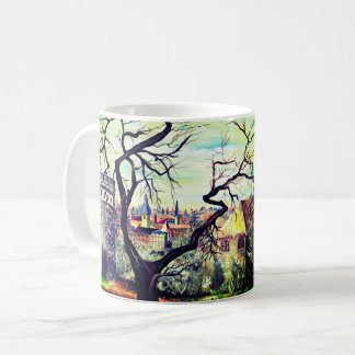 Dreamscape Luxembourg bohemian city Coffee Mug