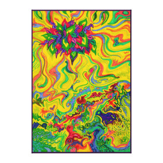 Dreamscaped Swamp-garden 2 Canvas Print