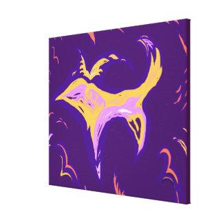 DreamTime Bird Dog - medium option Canvas Print
