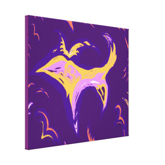 DreamTime Bird Dog - small option Canvas Print
