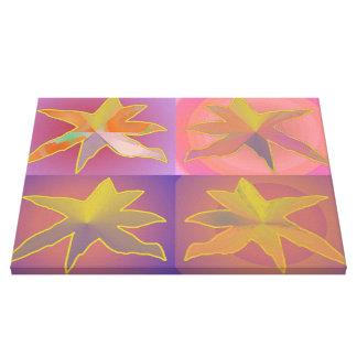 DreamTime StarBirds - small option Canvas Print