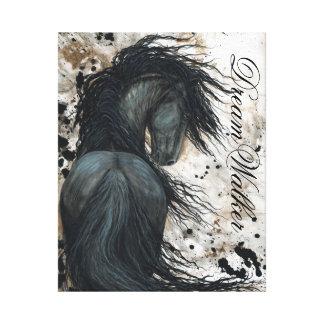 DreamWalker Canvas Art Horse print by Bihrle