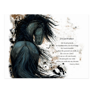 DreamWalker Horse Postcard by Bihrle