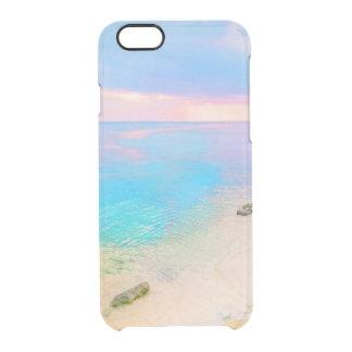 Dreamy beach clear iPhone 6/6S case