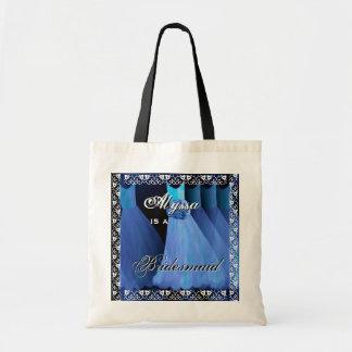 Dreamy Blue Bridesmaid Dresses Tote Bag