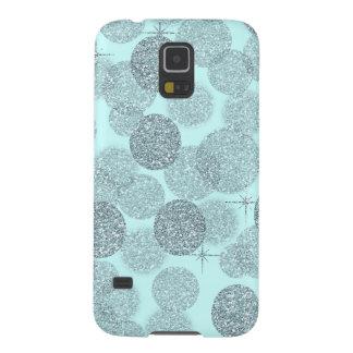 Dreamy Blue Glitter Case For Galaxy S5