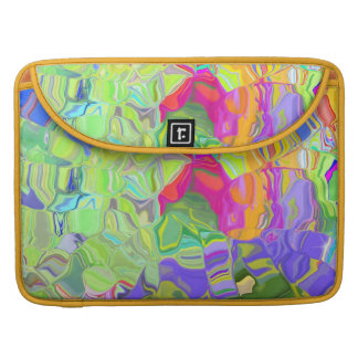 Dreamy Colorful Abstract Sleeve For MacBook Pro