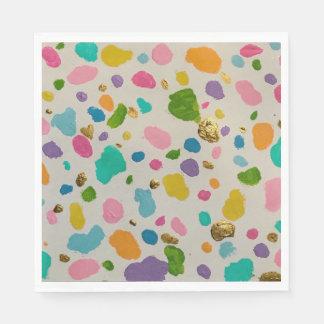 Dreamy Dalmatian Disposable Napkins
