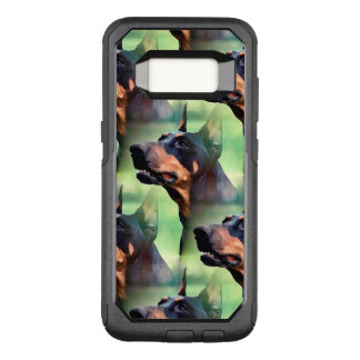 Dreamy Doberman Pinscher Face Painting OtterBox Commuter Samsung Galaxy S8 Case