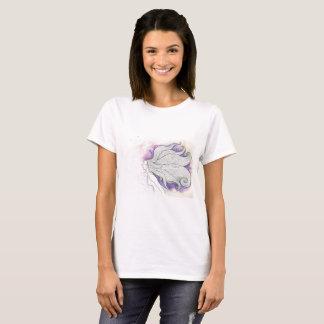 Dreamy illustration on t-shirt print